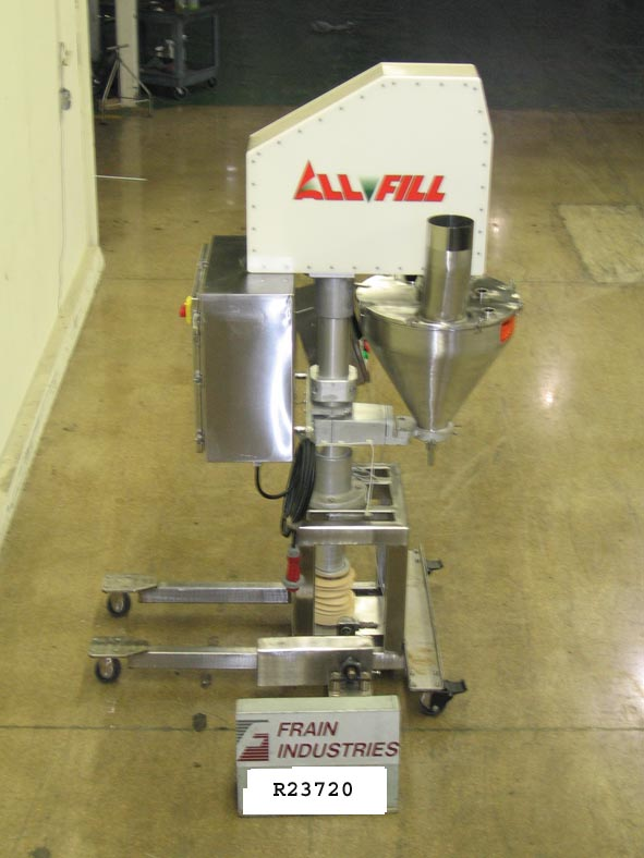 All Fill Filler Powder Auger Bsv600 For Sale R23720
