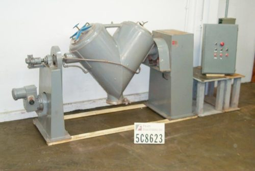 Photo of Patterson Kelley Mixer Powder Twin Shell 10 CU FT