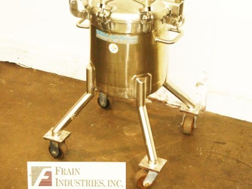 Photo of Mueller Tank Reactor SS 12 GAL