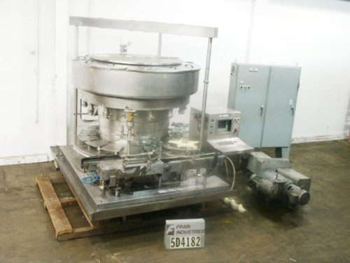 Photo of Serac Filler Liquid Scale R15/36 filling machine rotary scale