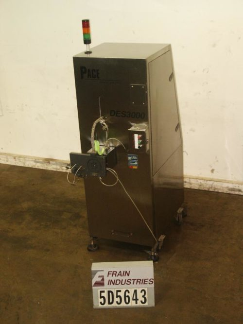 Photo of Pace Feeder Desiccant DES3000 Pace barrel style desiccant feeder capable of 200cpm