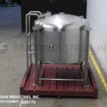 Thumbnail of Tank SS Single Wall 300 GAL 300 gallon 316 stainless steel wall dome top storage tank