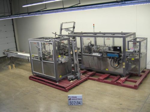 Photo of Serpa Packaging Case Packer Wrap Around 3000WACP