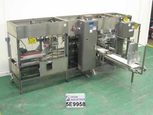 Photo of Goodman Packaging Case Packer Robotic STACKER
