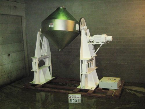 Photo of Gemco Mixer Powder Double Cone 103 CU FT