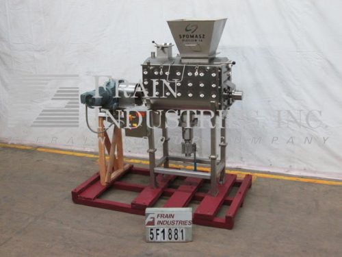 Photo of Spomasz Mixer Powder Paddle S.S. 10 CU FT 80GL CUA17