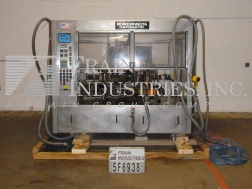 Photo of Krones Labeler Glue Wrap CANMATIC 18