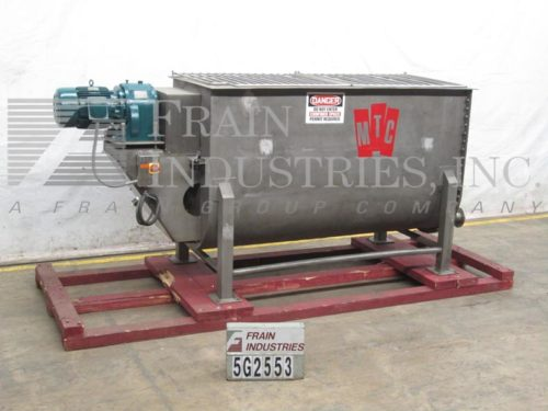 Photo of MTC / Materials Transportation Mixer Powder Ribbon S. S. 100 CU FT