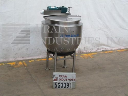 Photo of J C Pardo & Sons Inc Kettle Single Motion 100 GALLON