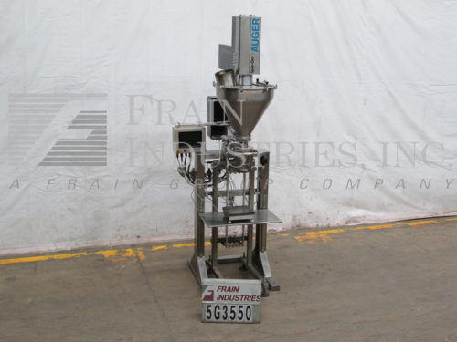 Photo of Spee Dee Filler Powder Auger 2000