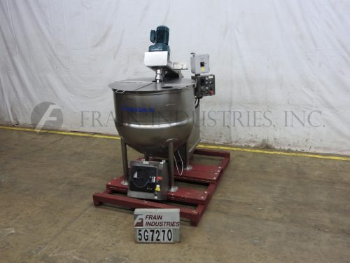 Photo of J C Pardo & Sons Inc Kettle Single Motion 200 GAL