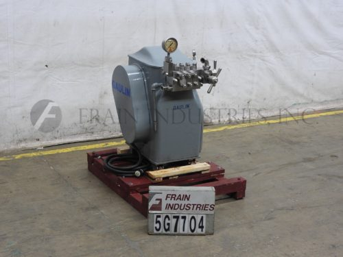 Photo of Gaulin Homogenizer 2 Stage 125E