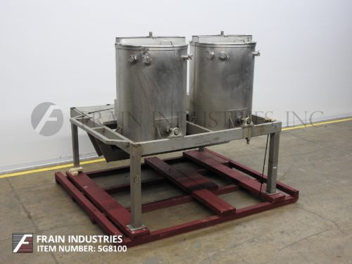 Photo of Tank Processors (2) 200 GAL