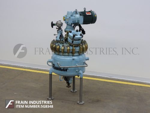 Photo of Pfaudler Robbins Meyers Tank Reactor GL 20 GAL