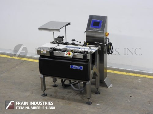 Photo of Mettler Toledo Checkweigher Belt XE