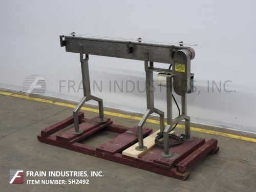 "Photo of Conveyor Table Top 3¼""W X 72""L"