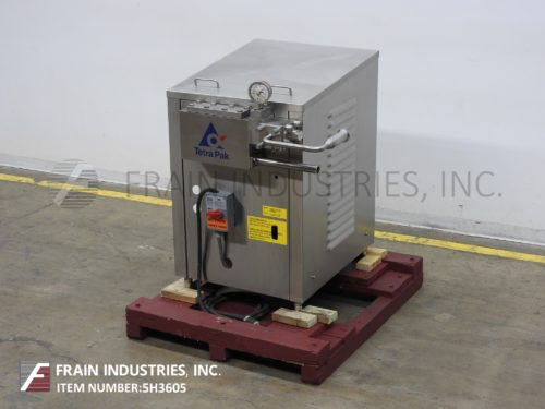 Photo of Tetra Pack Homogenizer 2 Stage TAS15/70BAR