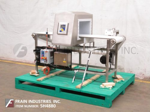 Photo of Lock Inspection Systems Metal Detector Conveyor INSIGHT3FHF