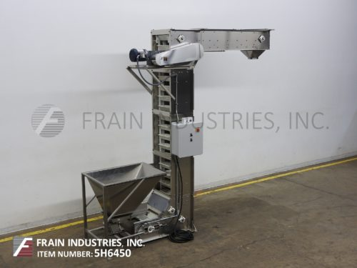 Photo of Nedco Conveyor Bucket Elevator 6X12