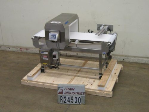 Photo of Lock Inspection Systems Metal Detector Conveyor MET30 +3F