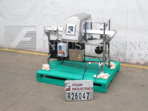 Photo of Lock Inspection Systems Metal Detector Conveyor IP693FHF8X14