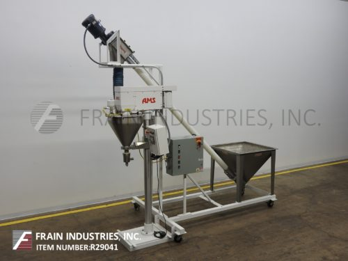 Photo of AMS Filling Systems Filler Powder Auger A100 AMS Filling Systems Filler Powder Auger A100
