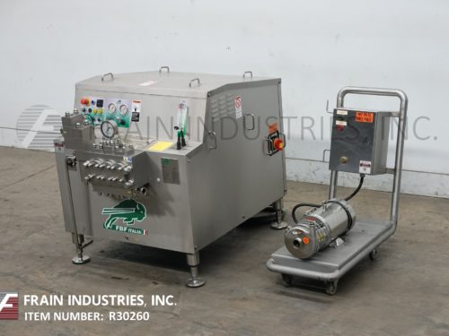 Photo of FBF Italia Srl Homogenizer 2 Stage 4022