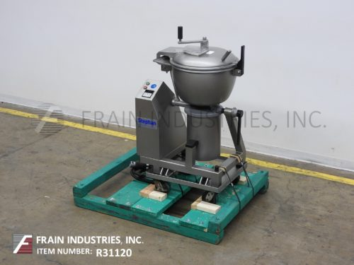 Photo of Stephan Machinery Corp Cutter, Slicer Chopper/Processor VCM44A1